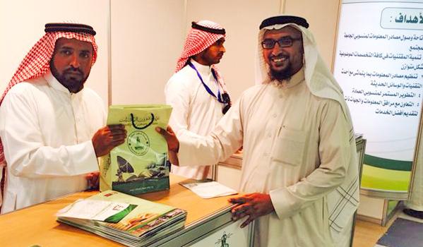 المكتبة المركزية تشارك في فعاليات الاسبوع الارشادي للطلاب